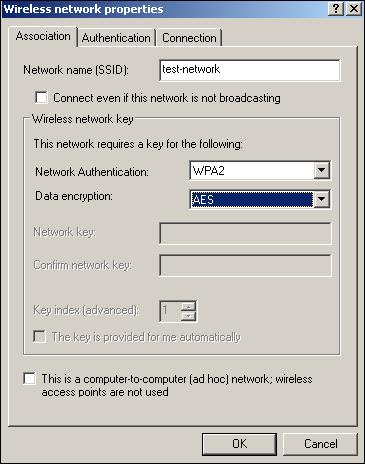 how to change wpa to wpa2 windows 10